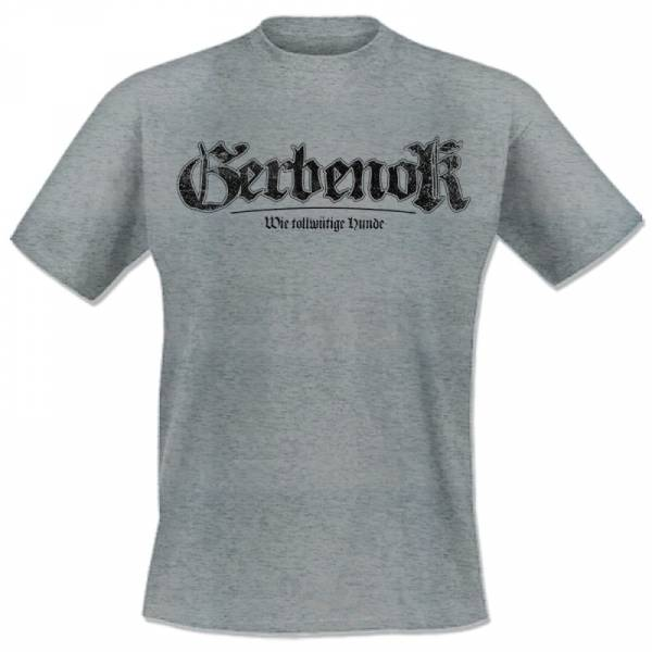 Gerbenok - WTH Logo, T-Shirt grau melliert lim. 50 OTS exklusiv