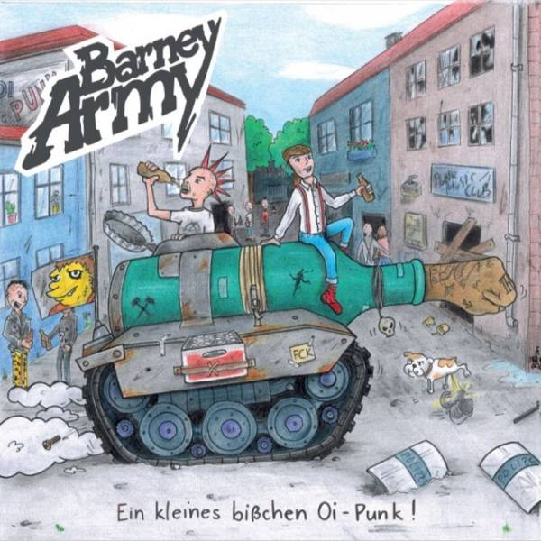 Barney Army - Ein kleines bißchen Oi-Punk, LP lim. 500 versch. Farben
