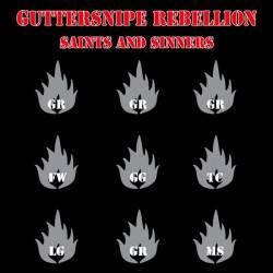"""Riotgun / Guttersnipe Rebellion - Split, 7"""" lim. 490 blau/grün half n half"""