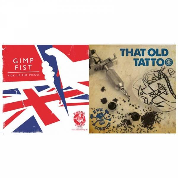 Evil Conduct / Gimp Fist – That Old Tattoo / Pick Up The Pieces, 7'' verschiedene Farben