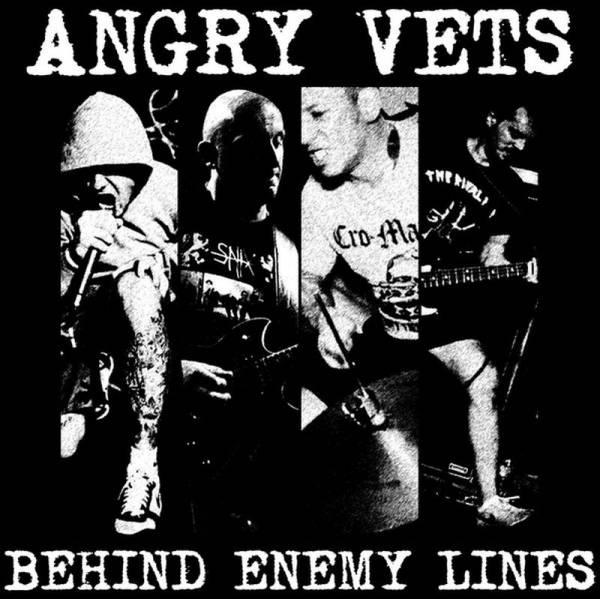 Angry Vets - Behind Enemy Lines, CD DigiPack