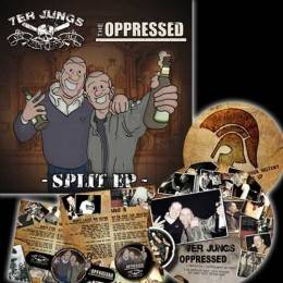 """Oppressed, the / 7er Jungs - Split EP, 7"""" Picture"""