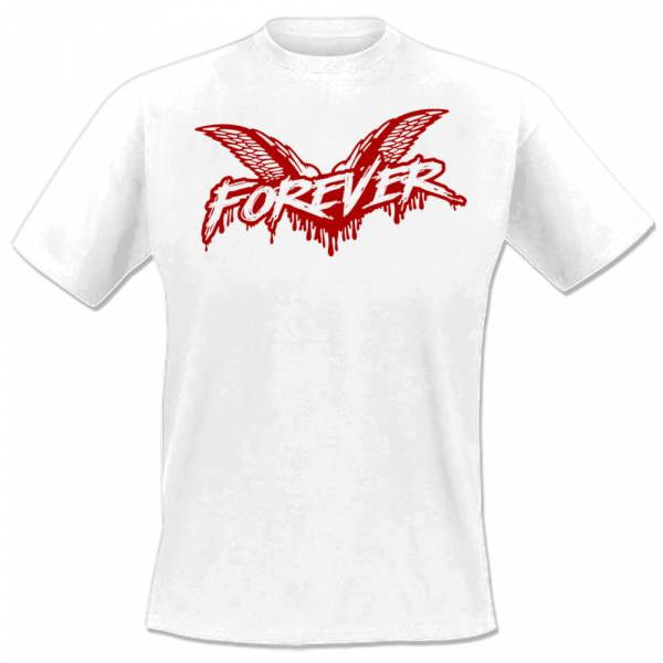 Cock Sparrer - Forever, T-Shirt, weiss