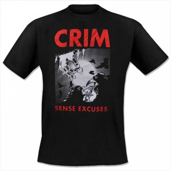 Crim - Sans excuses, T-Shirt schwarz
