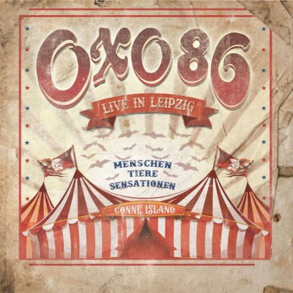 OXO 86 - Live in Leipzig, DoCD+DVD 6-seitiges Mediabook
