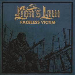 Lion's Law - Faceless Victim, 7'' lim. 200 Blue Cover