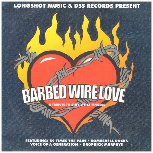 V/A Barbed Wire Love - A Tribute to Stiff Little Fingers, 7'' schwarz