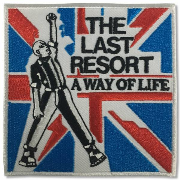 Last Resort, The - Skinhead Anthems, Aufnäher