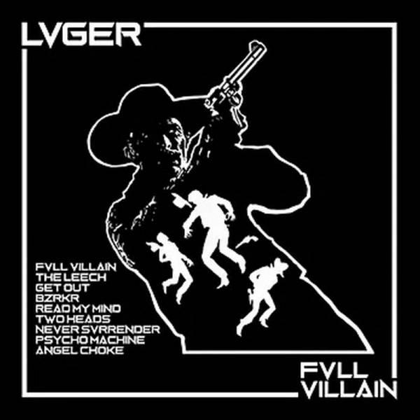 Lvger - Fvll Villain, LP lim. 300 weiß mit schwarz splatter