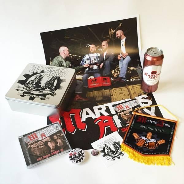 Martens Army - Wir treten wieder zu, CD Box