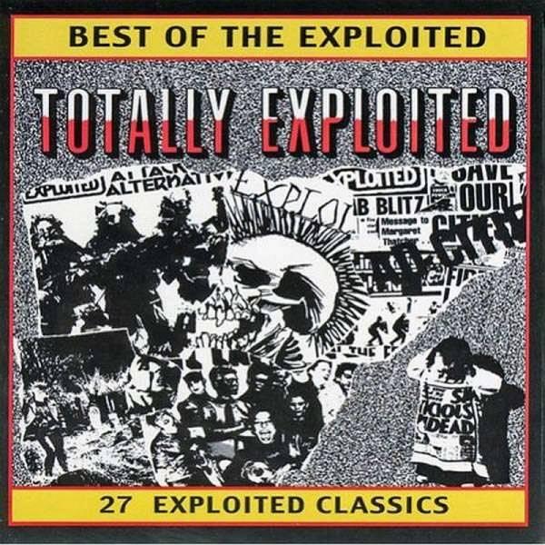 Exploited, The - Best Of / Totally Exploited, DoLP schwarz