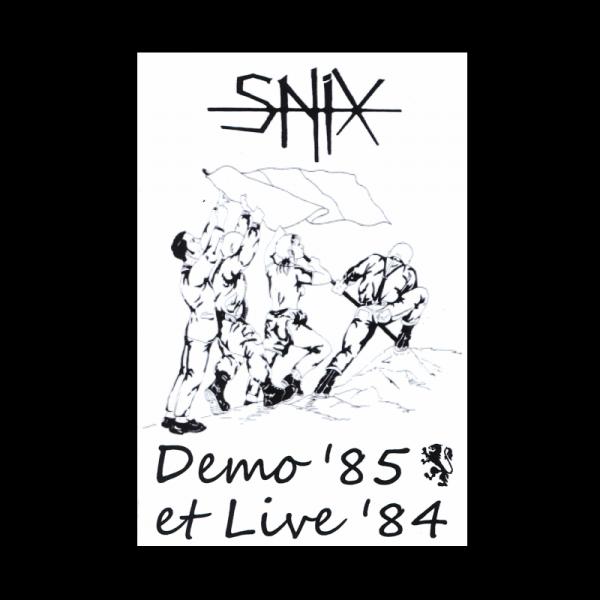 Snix - Demo '85 et Live '84, Kassette