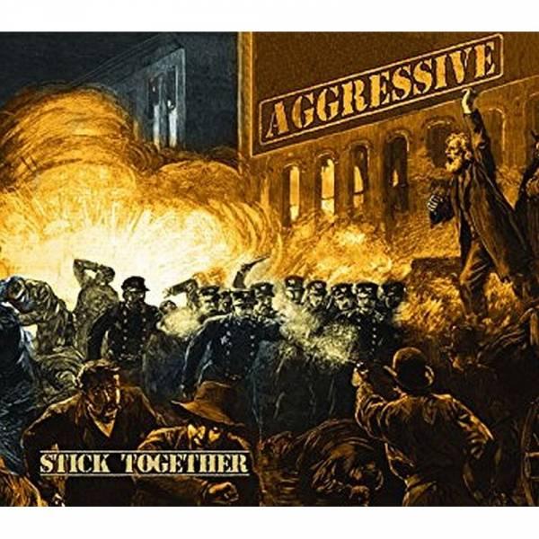 Aggressive - Stick together, LP lim. verschiedene Farben