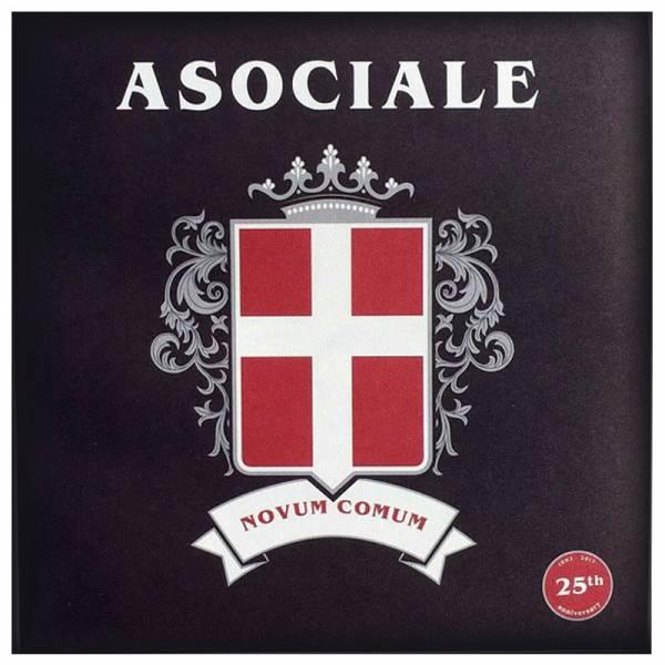 """Asociale - Novum Comum, 7"""" lim. 300 black 25th Anniverary"""