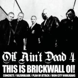 V/A Oi! ain't Dead Vol. 4 (This Is Brickwall Oi!), 2 x 10'' schwarz