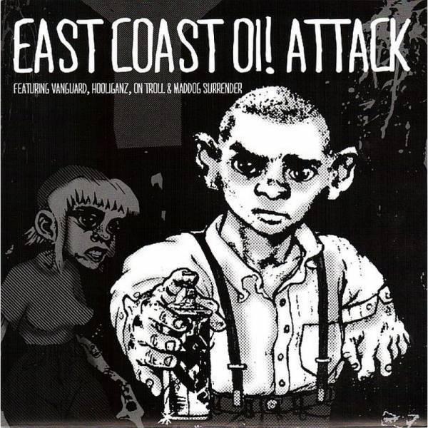 V/A East Coast Oi! Attack, 7'' lim. 300 schwarz