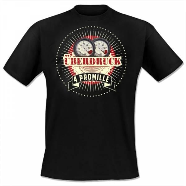 4 Promille - Überdruck, T-Shirt