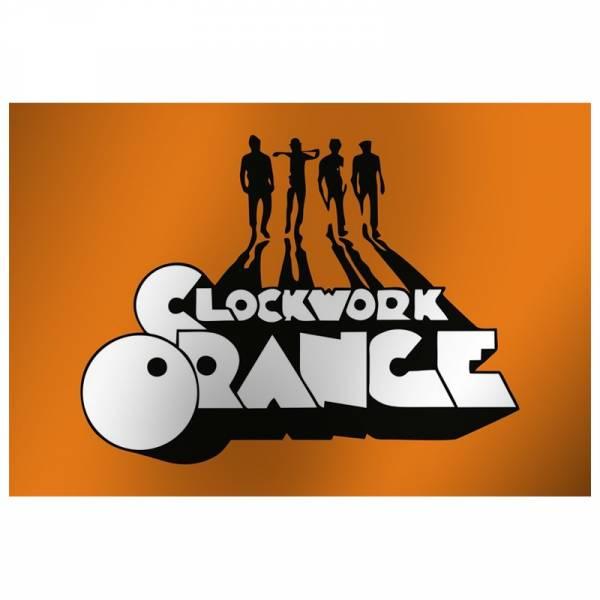 Clockwork Orange - Logo, Fahne