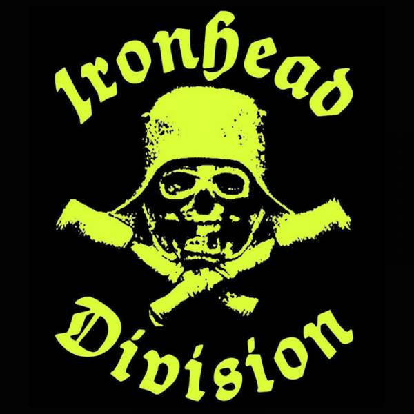 "Ironhead Division - Hammerwolf, 7"" lim. 249 yellow/black splattered"