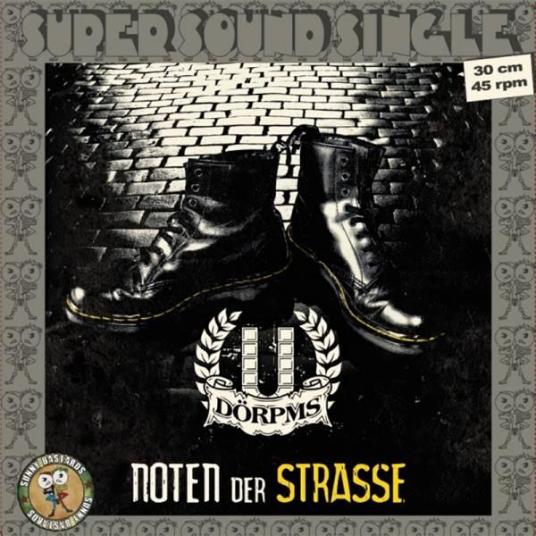 """Dörpms - Noten der Strasse, 12"""" lim. 250 schwarz"""