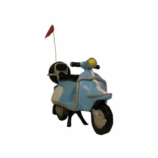 Scooter - blau, Figur