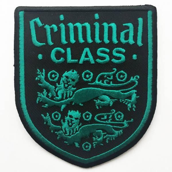 Criminal Class - Wappen, Aufnäher