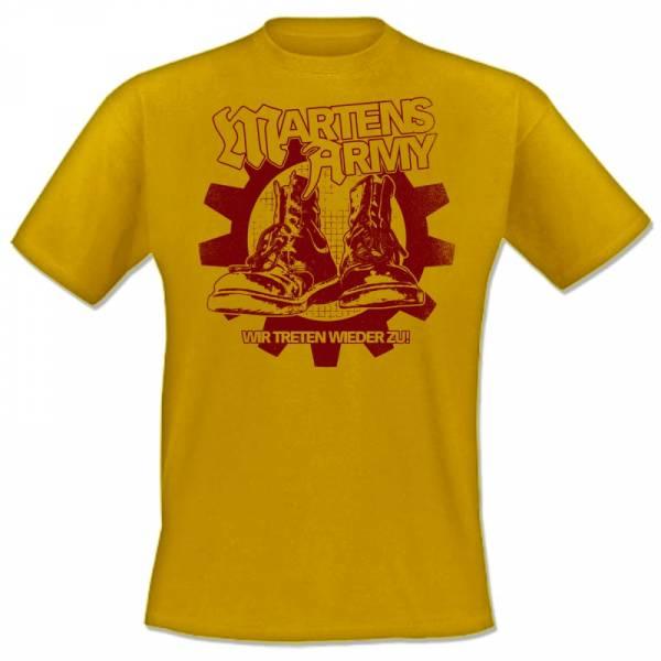 Martens Army - Wir treten wieder zu, T-Shirt verschiedene Farben OTS Exklusiv