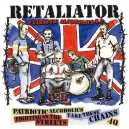 """Retaliator - Patriotic Alcoholics, 7"""" lim. 500 verschiedene Farben"""