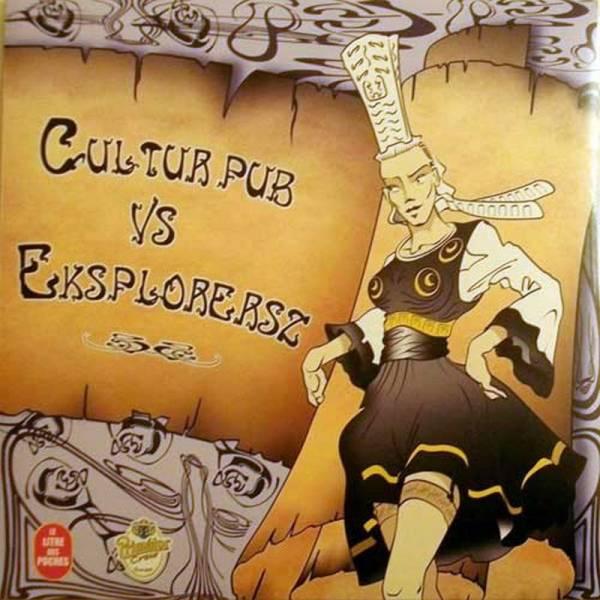 Eksplorersz / Cultur Pub – Eksplorersz Vs Cultur Pub, LP weiß