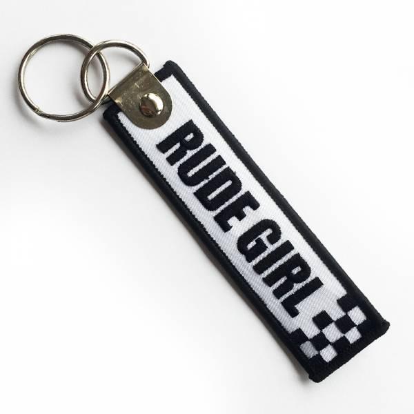 Rude Girl - Schlüsselanhänger Rudegirl