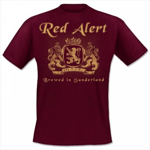 Red Alert - Brewed in Sunderland, T-Shirt verschiedene Farben OTS EXKLUSIV!!!