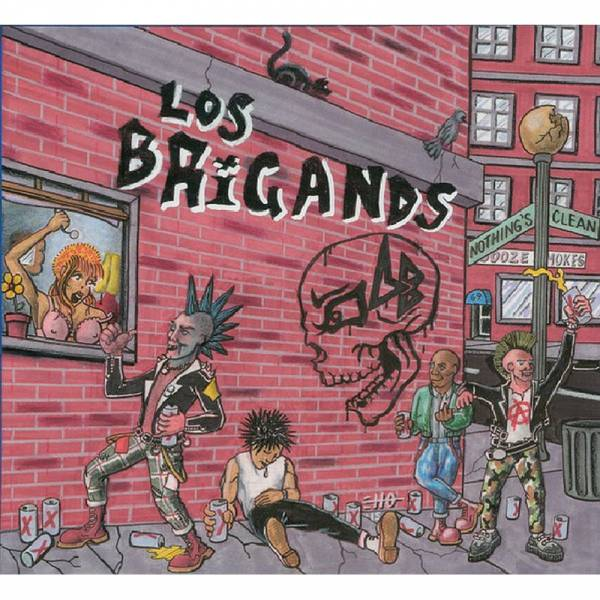 Los Brigands - Nothing's Clean, LP lim. 100 beer
