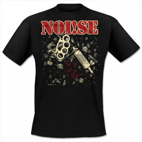 Noi!se (Noise) - The Scars we hide, T-shirt schwarz