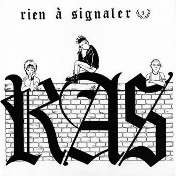 R.A.S. - Rien á Signaler, 7'' schwarz