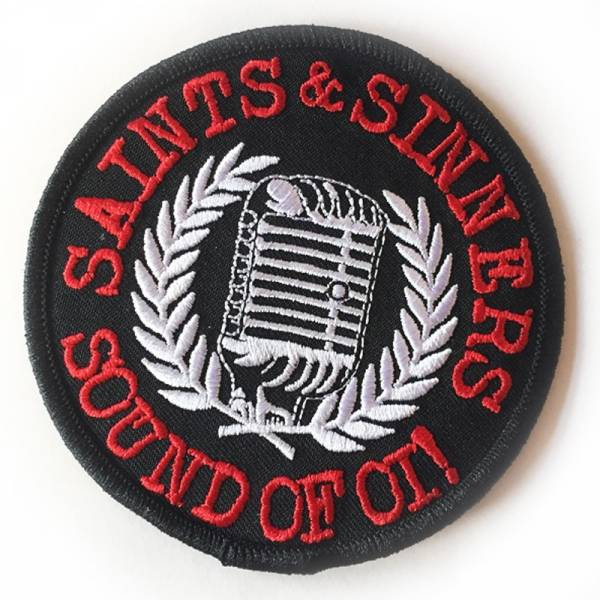 Saints & Sinners - Sound of Oi!, Aufnäher
