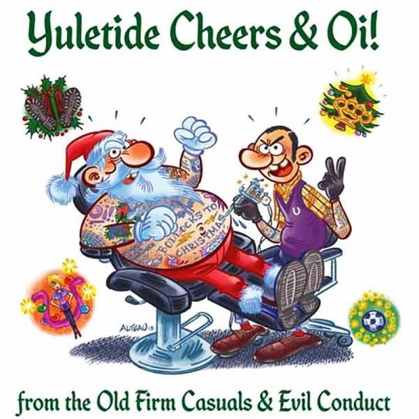 "Evil Conduct / Old Firm Casuals - Yuletide, 7"" lim. 1000 verschiedene Farben"
