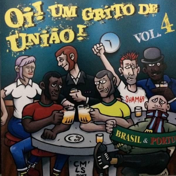 V/A Oi! Um Grito De Uniao! Vol. 4, CD
