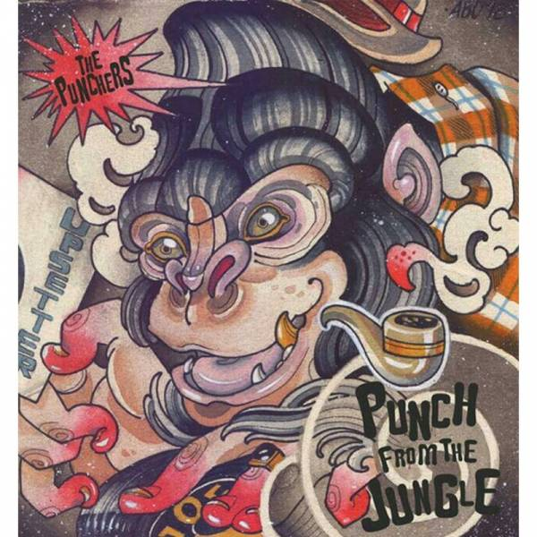 Punchers, The - Punch from the jungle, 7'' lim. 250 schwarz