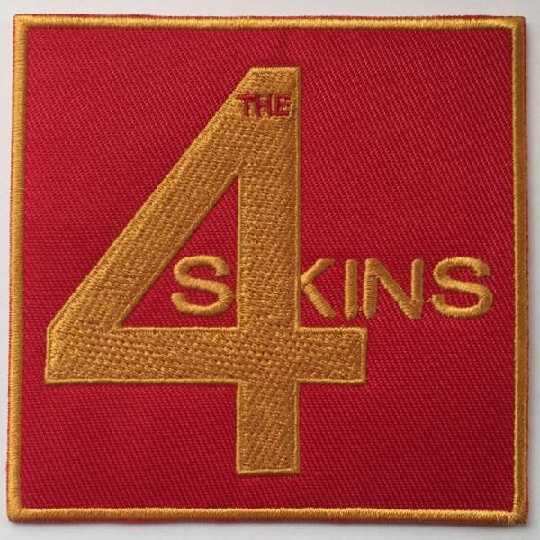 4 Skins - Logo, Aufnäher