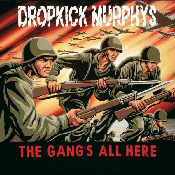Dropkick Murphys - The Gang's all here, CD Digipack