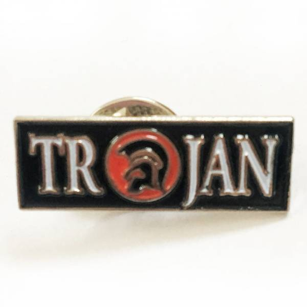 Trojan - Logo Rot, Pin