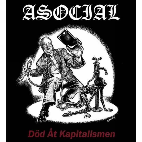 Asocial - Död Åt Kaptalismen, LP lim. 200 schwarz