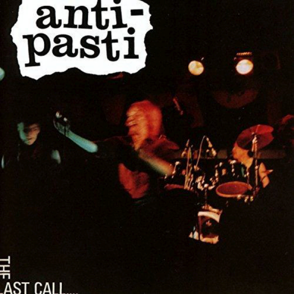 Anti-Pasti - The last Call, LP schwarz RP