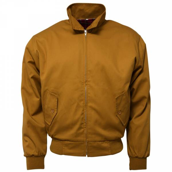 RELCO Clothing - Harrington, mustard