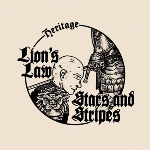 Lion's Law / Stars And Stripes - Heritage Split, EP lim. verschiedene Farben