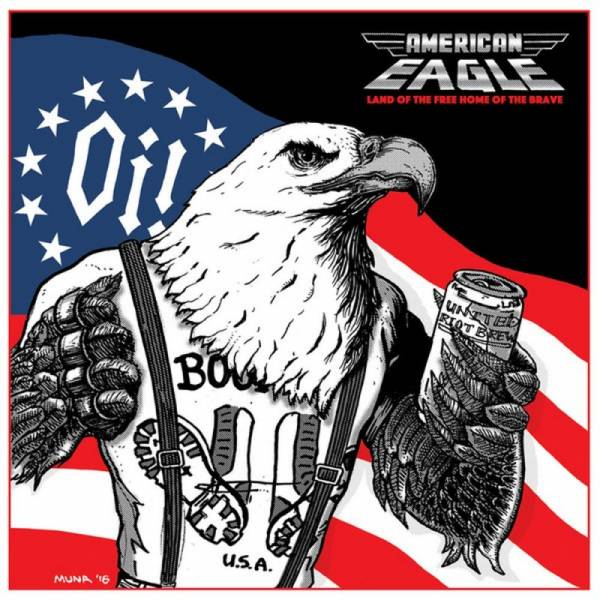 American Eagle - Land of the free home of the brave, 7'' lim. verschiedene Farben
