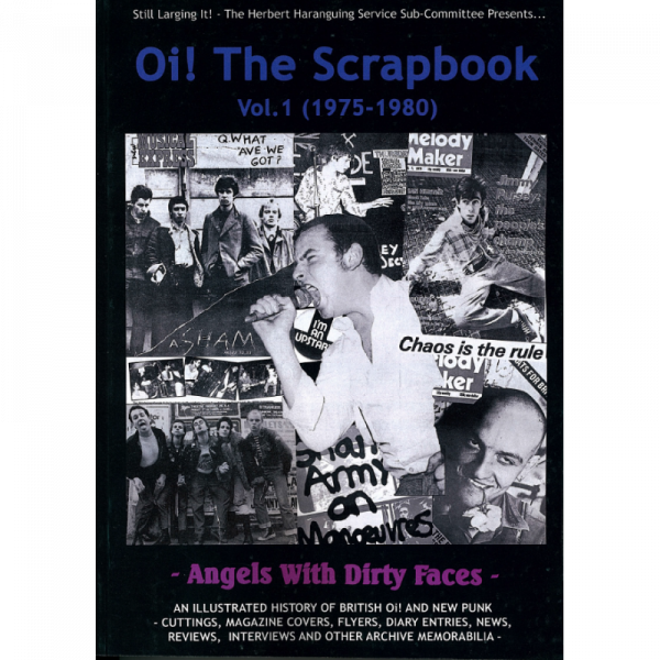 Oi! The Scrapbook - 1975 - 1980 Vol 1, Buch