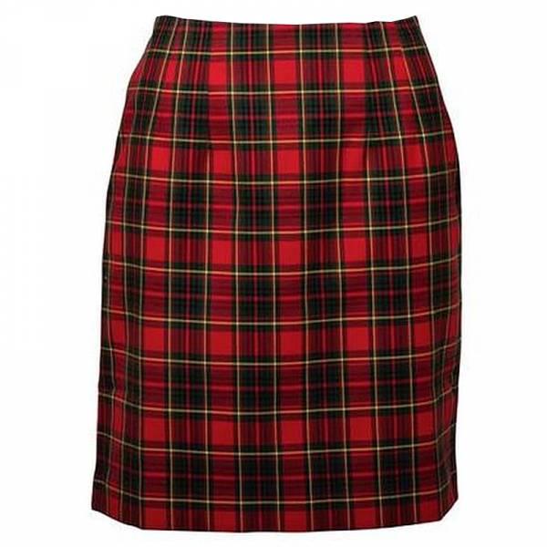 RELCO Clothing - Ladies Skirt Red Tartan, verschiedene Größen