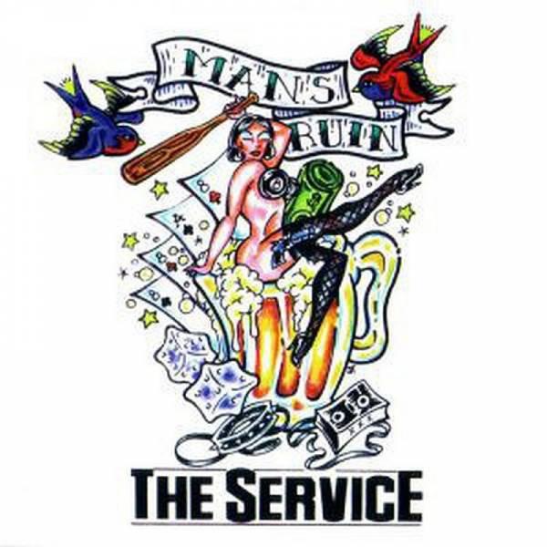 Service, The - Man's Ruin, CD