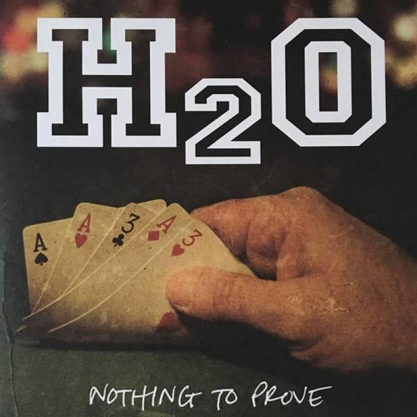 H2O - Nothing to prove, LP grün/schwarz